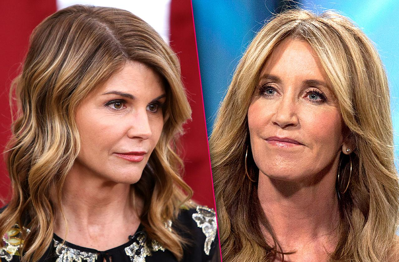 Lori Loughlin Felicity Huffman Arrested Admissions Scam