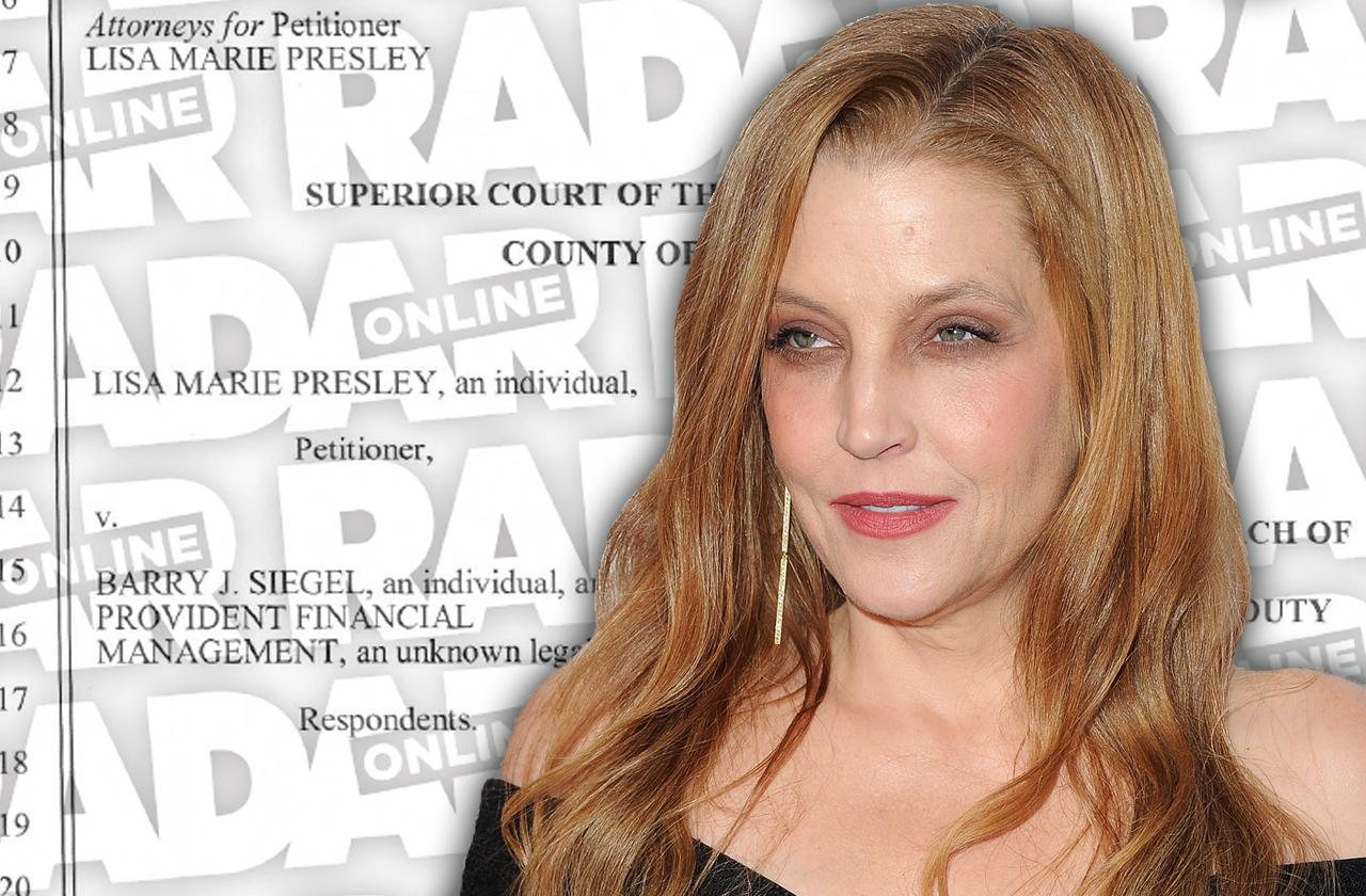 //lisa marie presley sues business manager