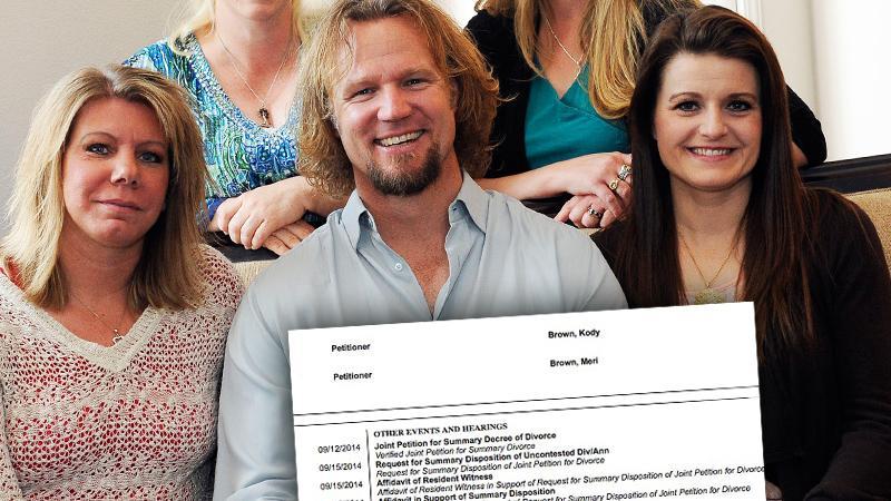 Kody Brown Divorces Meri Weds Robyn Sister Wives