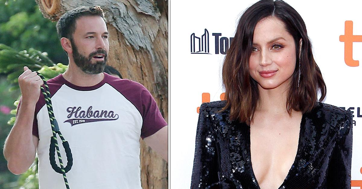 ben affleck ex anna de armas first photos jennifer lopez back together reunion