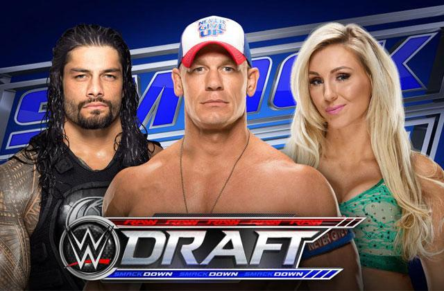 //wwe draft airing live on smckdown tonight tune in pp