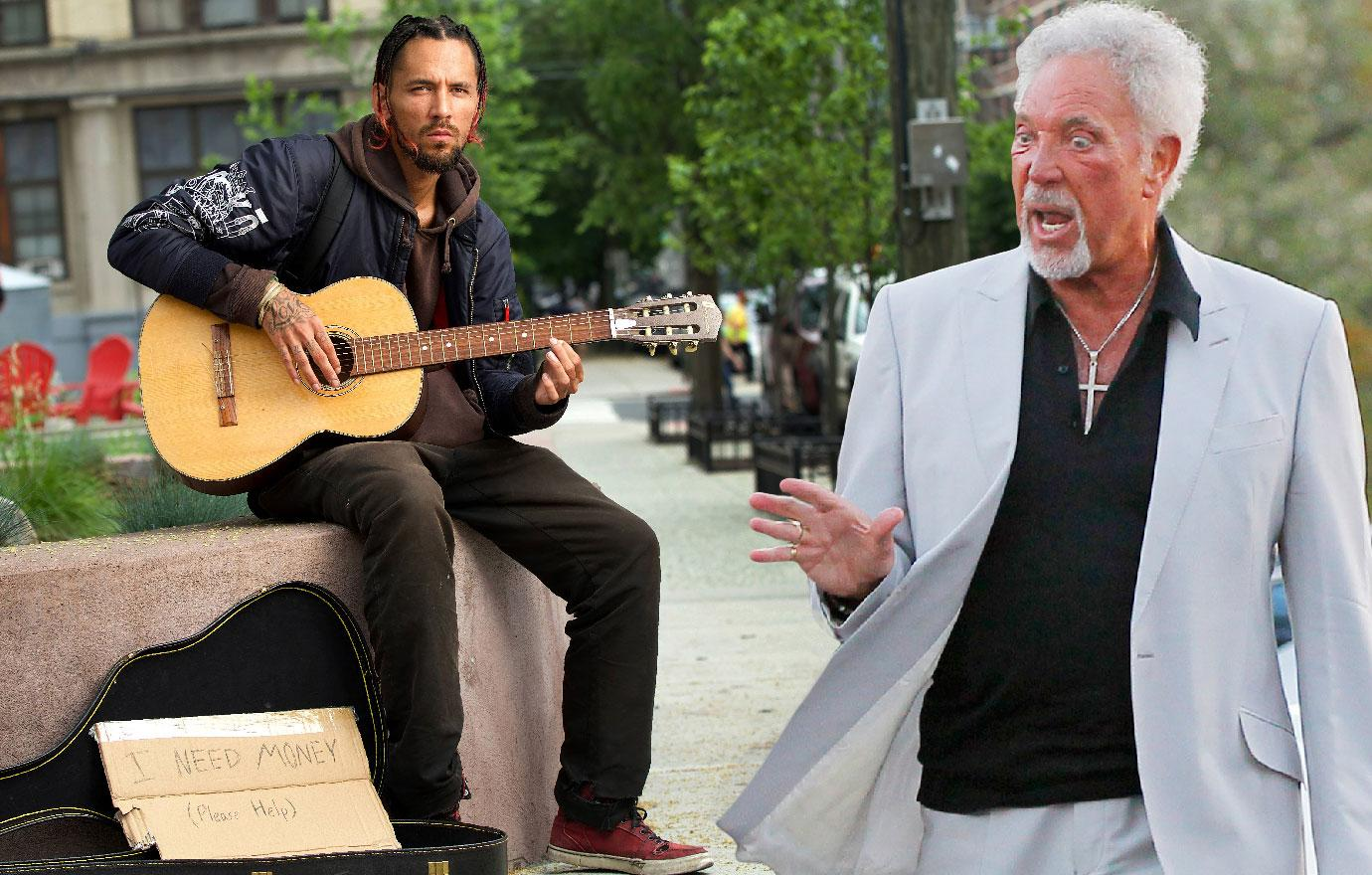 Tom Jones Son Is Homeless Busker