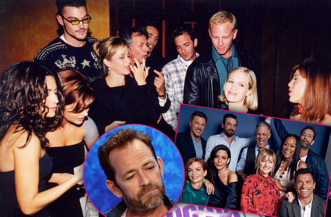 Luke Perry Death 90210 Riverdale Costars Reactions