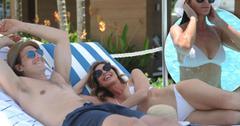 //Caroline Radziwill Adam Kenworth San Juan Beach Club photos pp