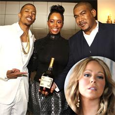 //nick cannon partying valentines day without wife mariah carey sq