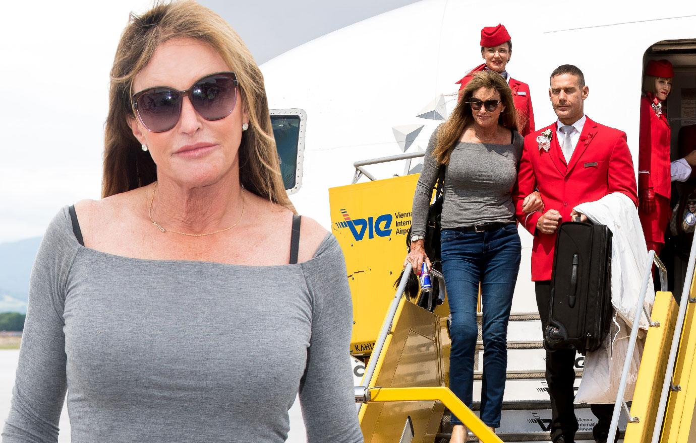 //caitlyn jenner attends austria for life ball instead of brodys wedding pp