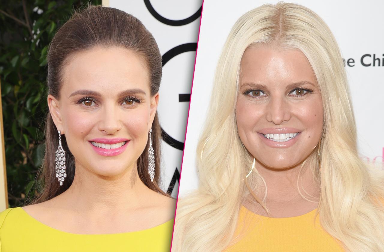 Jessica Simpson And Natalie Portman To Discuss Feud Over Bikini Bodies