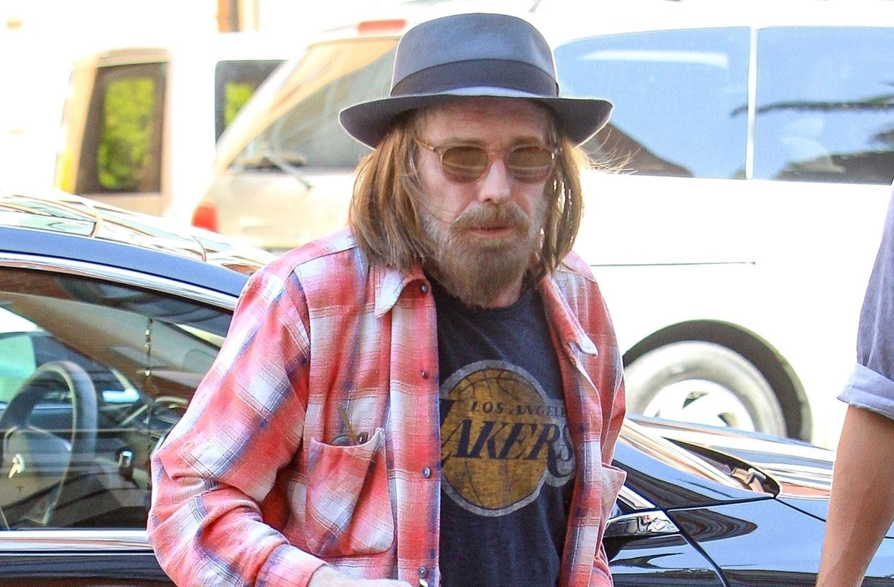 tom petty before death pain depression
