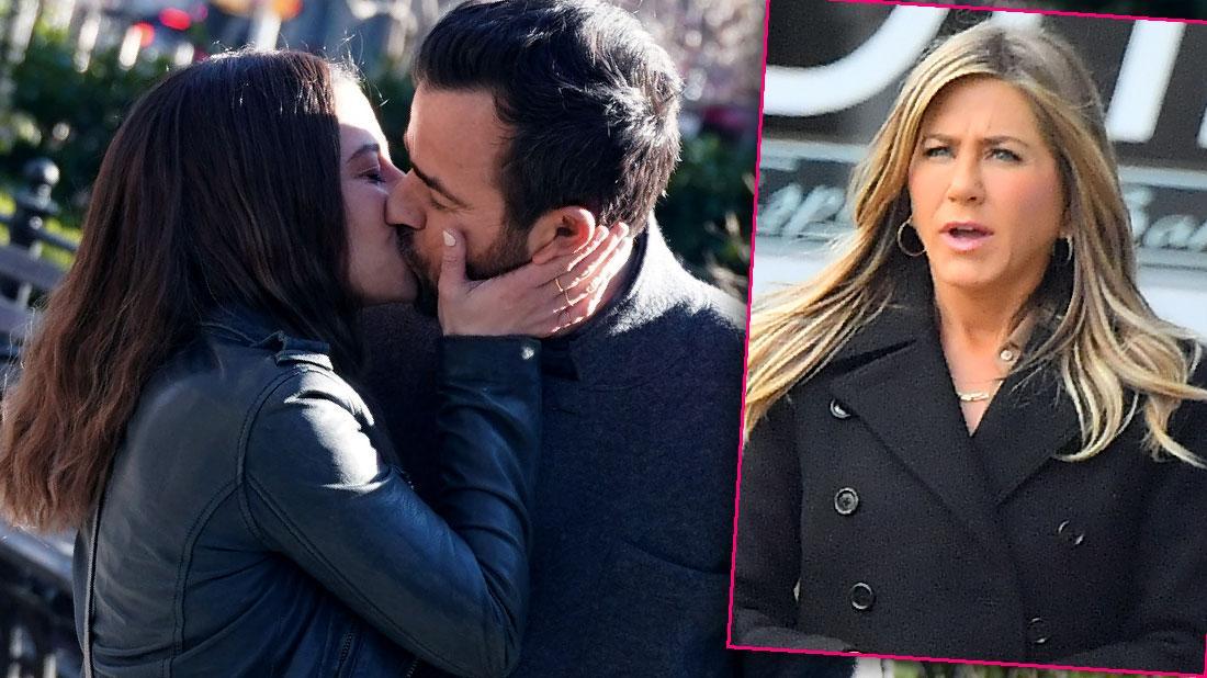 Justin Theroux Kisses Ilana Glazer New York