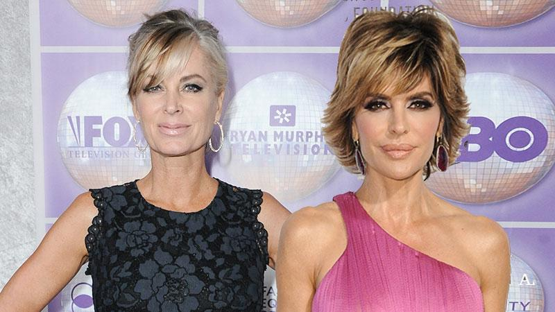 Eileen Davidson Lisa Rinna Real Housewives of Beverly Hills Another Season