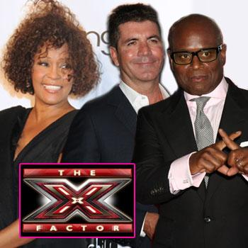 //whitney houston considered x factor splash