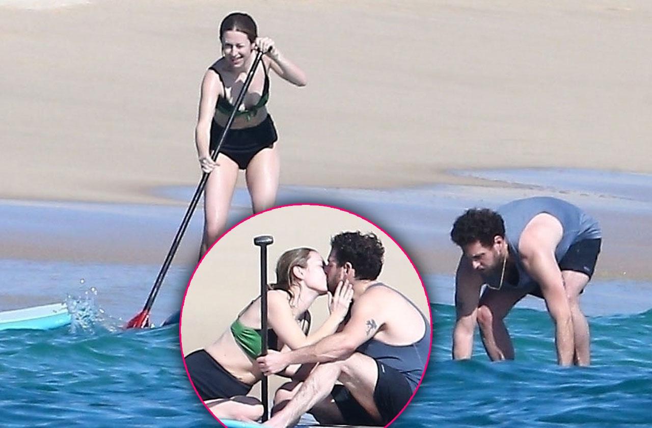 Jonah Hill Girlfriend Beach PDA