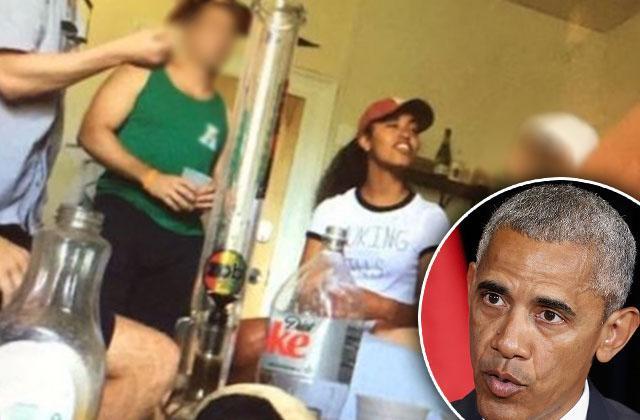 Malia Obama bong photo scandal pot smoking