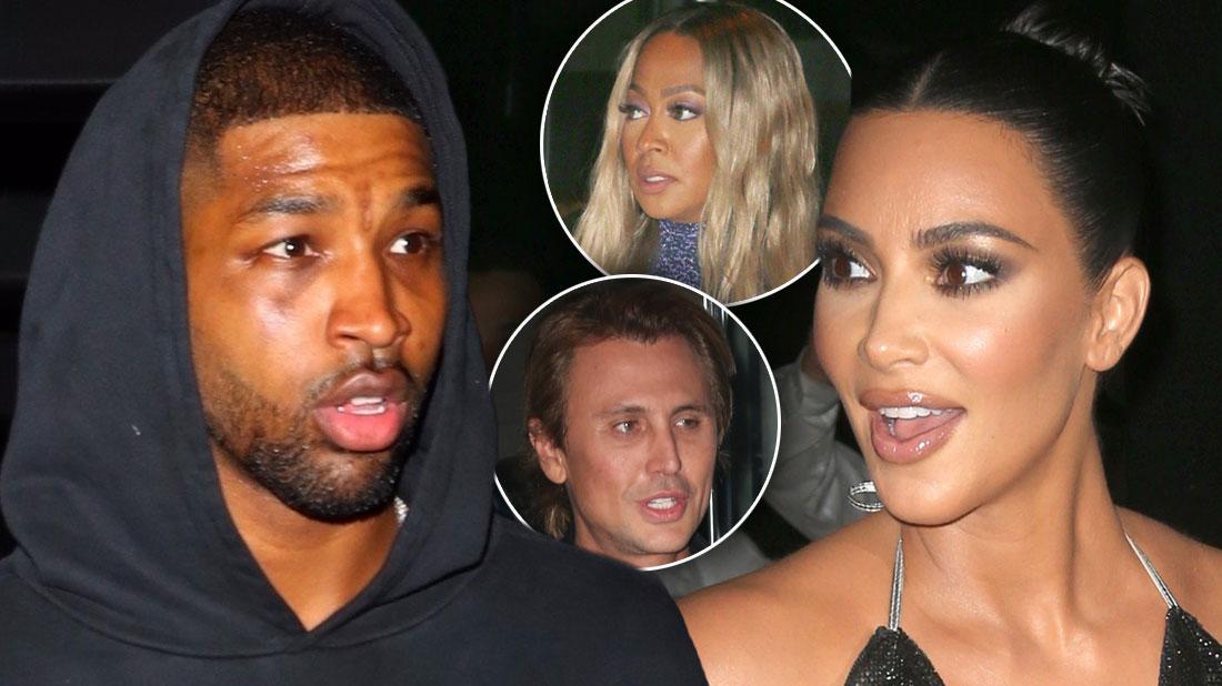 Tristan Thompson Has Dinner With Kim Kardashian & Jonathan Cheban