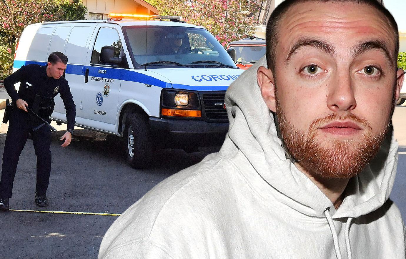 Coroner Removes Mac Miller Body From Home