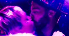 Miley Cyrus and Patrick Schwarzenegger New Year's Kiss