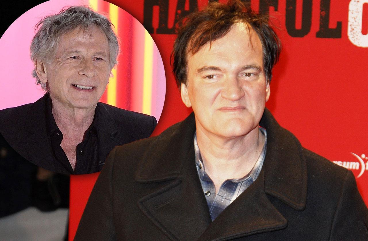//Tarantino Defends Roman Polanski Underage Girl Sex pp
