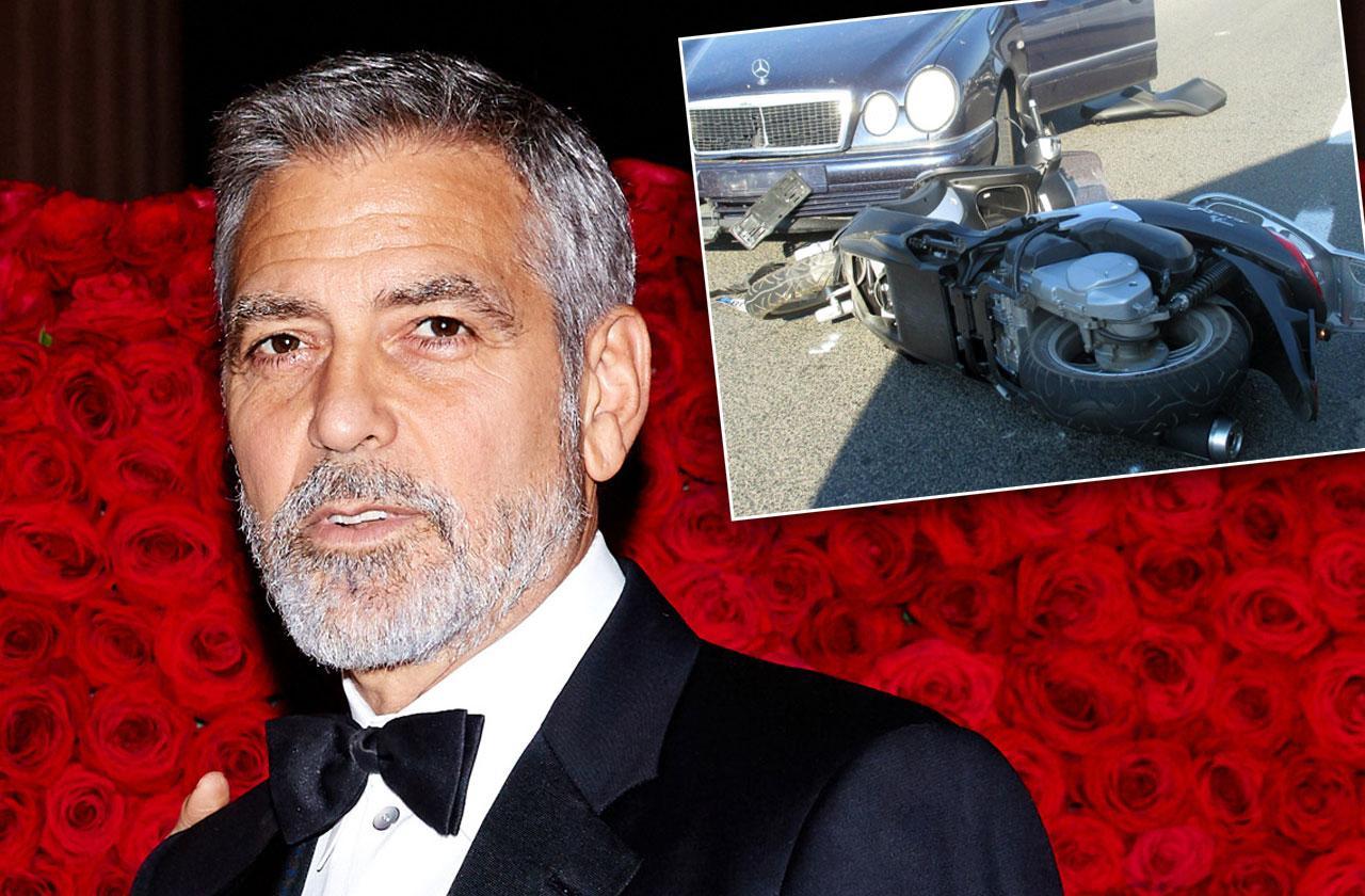 George Clooney Crash Witness