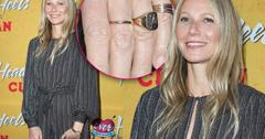 //Gwyneth Paltrow Ring Engagement Married pp