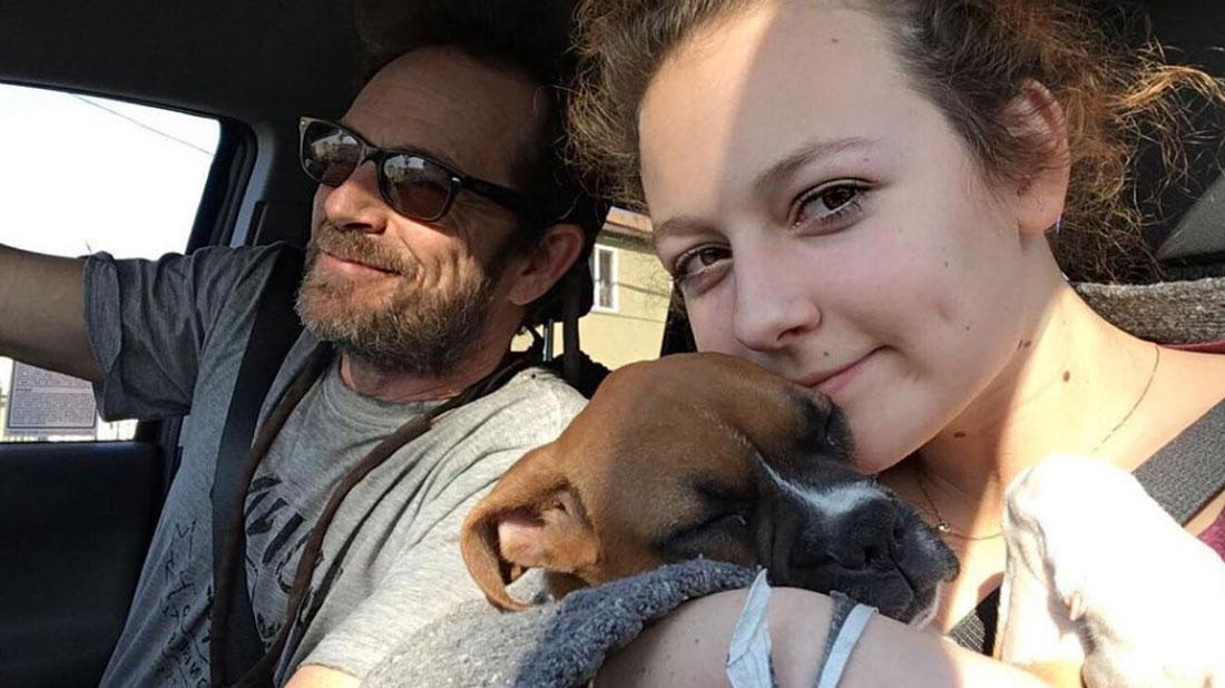 Luke Perry's Daughter Posts Tribute 3 Weeks After His Death