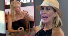 RHOC Vicki Gunvalson Whooping It Up Screen Time