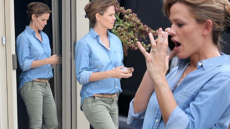 Jennifer Garner Ben Affleck Cheating Nanny Unhappy Cell Phone Conversation