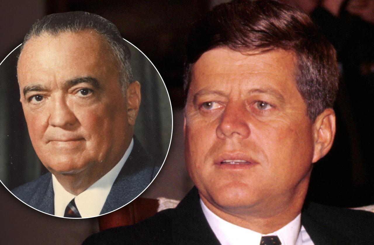 J Edgar Hoover conspiracy killed john f kennedy