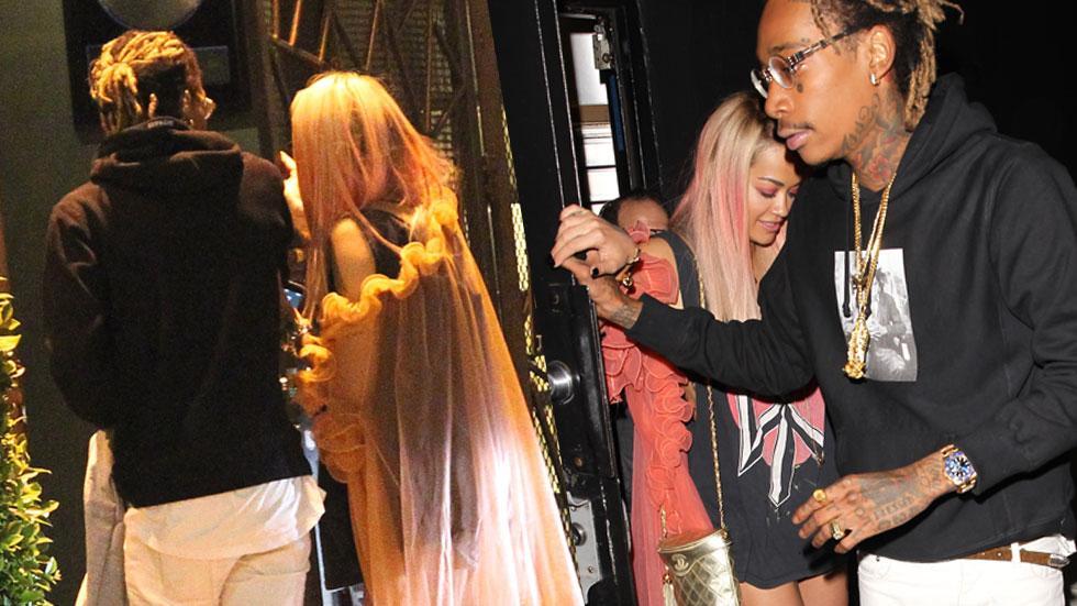 Rita Ora Wiz Khalifa Photos