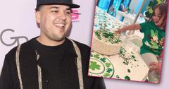 Rob Kardashian St Patricks Day Birthday With Dream