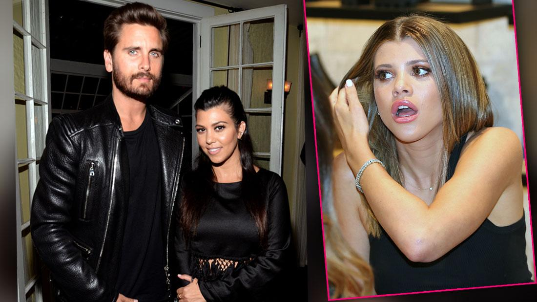 Sofia Richie Hurt & Super Jealous Of Scott Disick's Soulmate Kourtney Kardashian