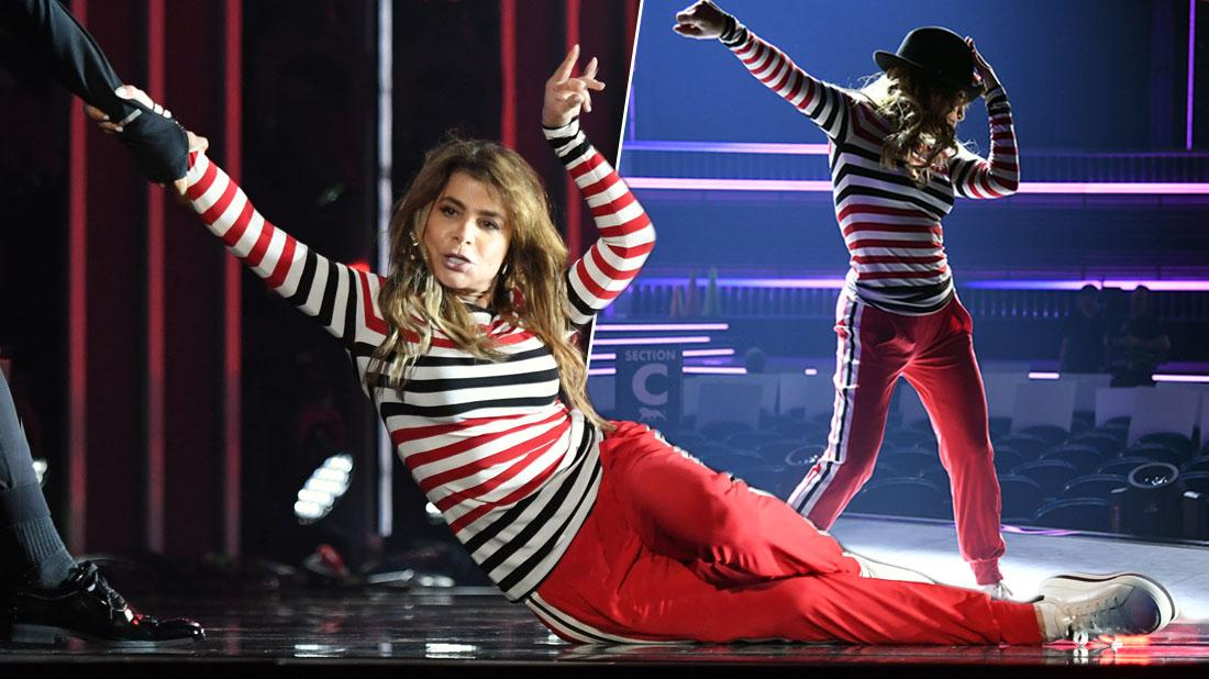 Paula Abdul Rehearses Billboard Music Awards After Father's Death