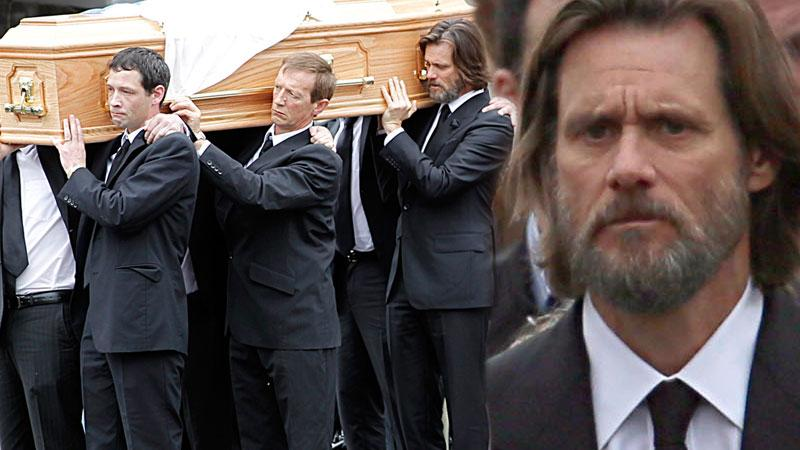 Cathriona White Funeral Jim Carrey Suicide