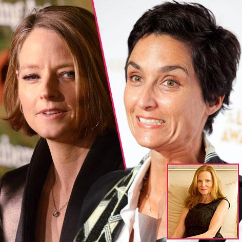 //jodie foster new wife alexandra hedison still talking to her ex square