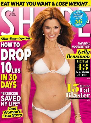 //shape magazine kelly bensimon bikini