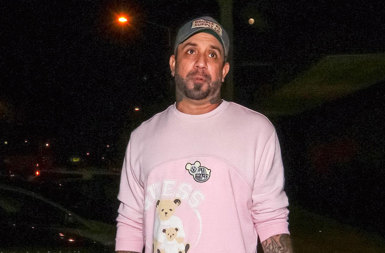 Backstreet Boys AJ McLean Relapse Addiction