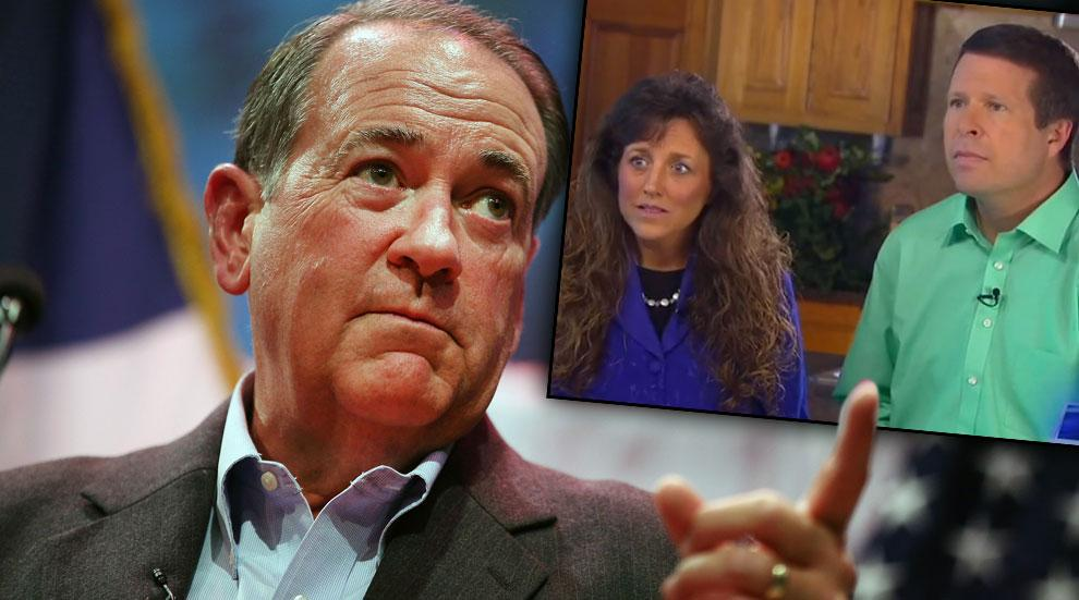 Mike Huckabee Duggar Molestation Scandal