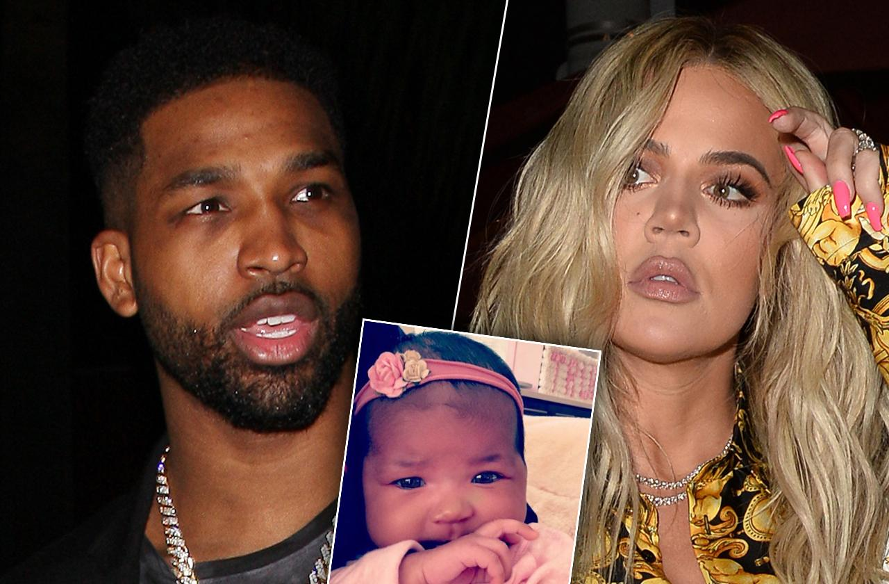 Tristan Thompson Part Time Dad khloe kardashian fears baby true