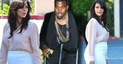 Kanye cheats?