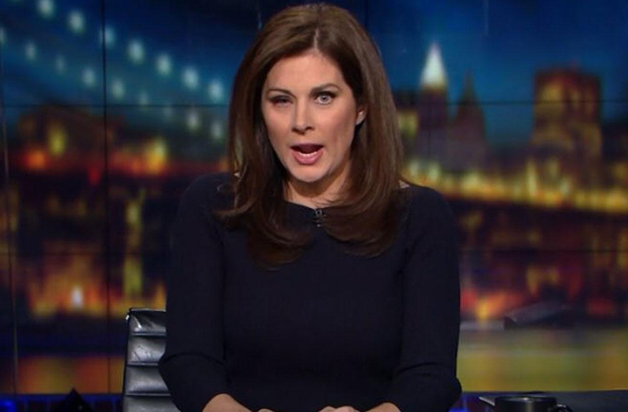//erin burnett eye issue cnn outfront pp