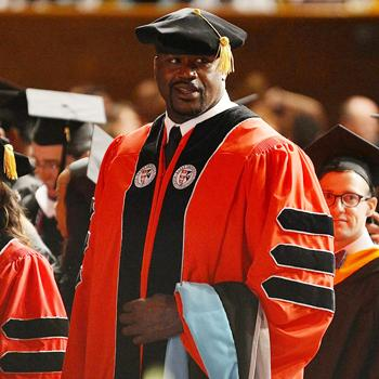 //shaquille oneal doctoral degree
