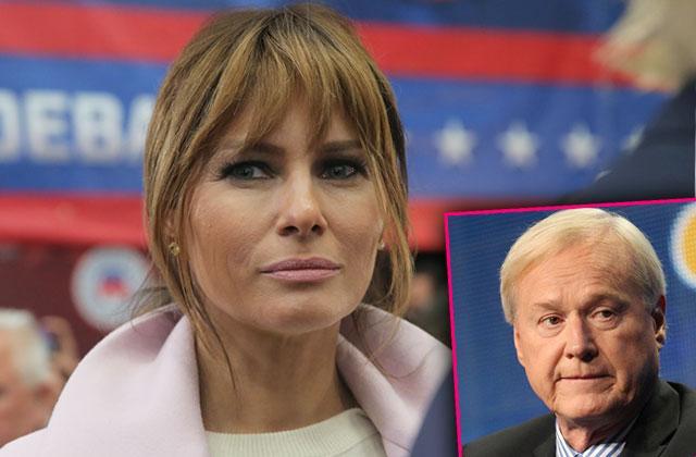 Melania Trump Fires Back Chris Matthews Slams Clintons
