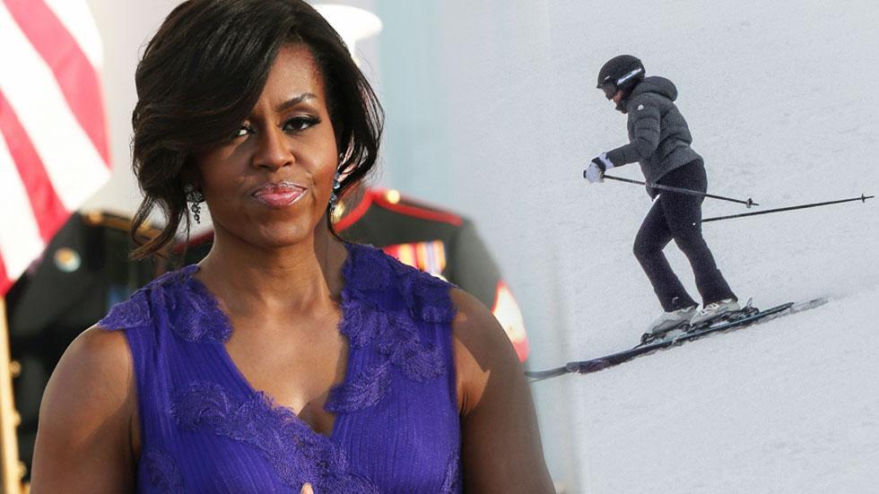 Michelle Obama Ski Trip Cost Taxpayers $57,000