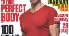 //hugh jackman mens fitness cover