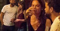 Joshua Jackson Ruth Wilson Caught Cozy Diane Kruger Split