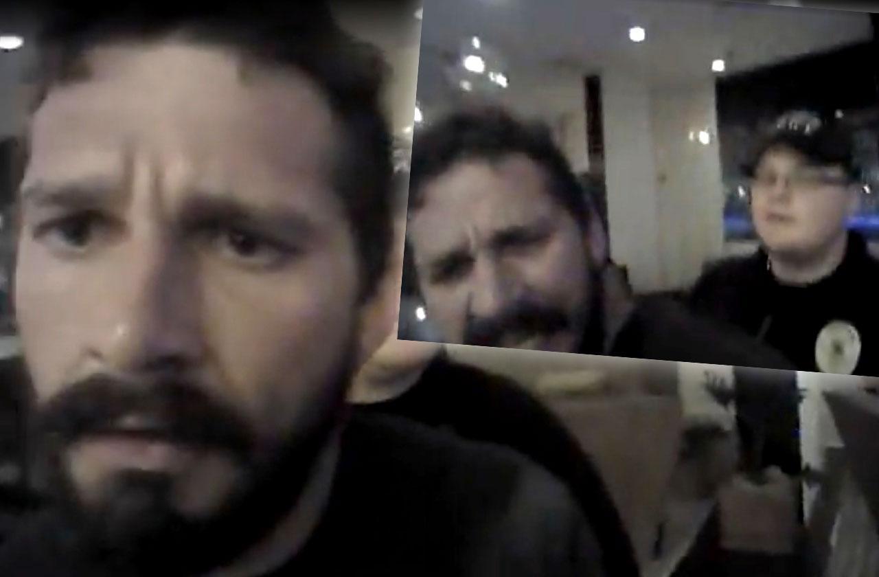 //shia labeouf arrest bodycam video pp