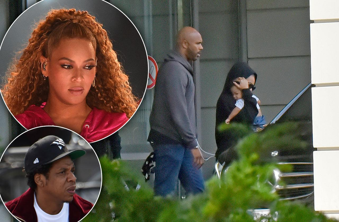 Beyonce Jay Z Twins Hospital