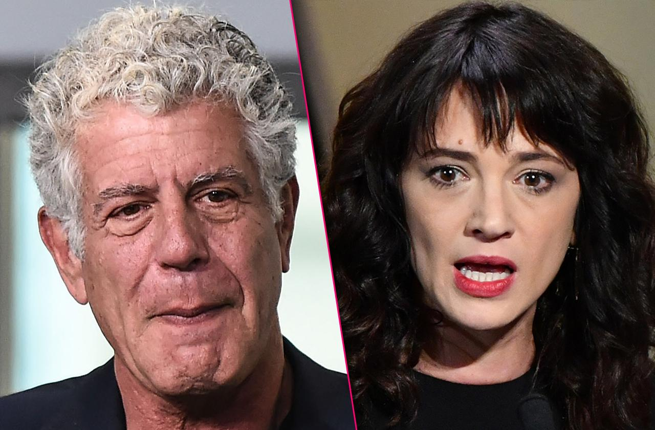 Asia Argento Sex Scandal Cover Up Texts