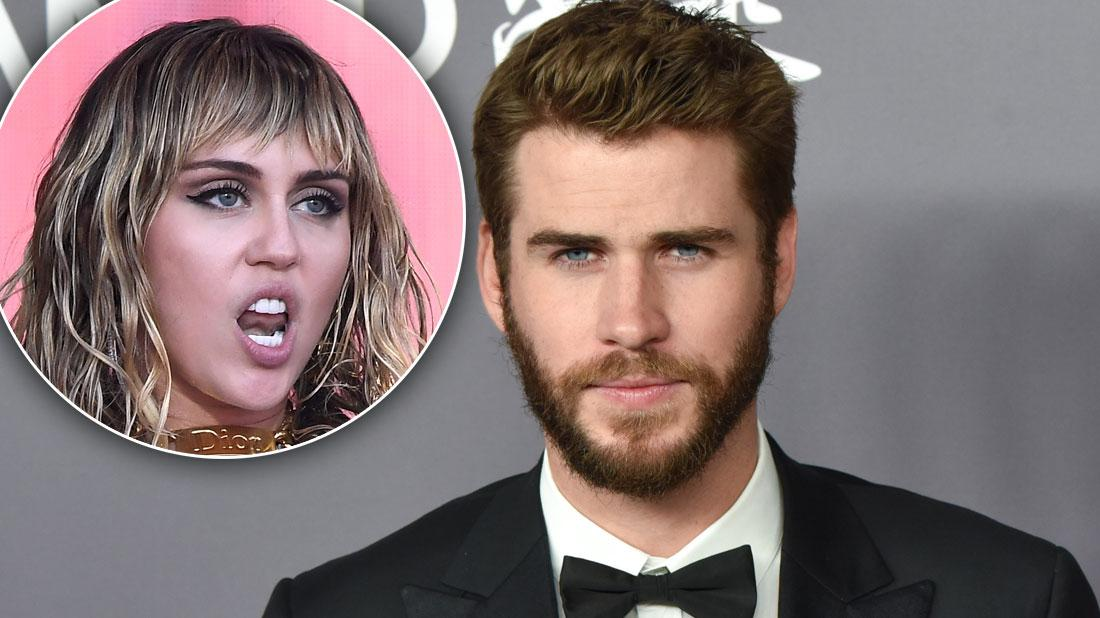 Liam 'Spiraling Into Deep Depression' After Miley Split, Worried Pals Fear
