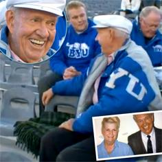 //old man still buys passed away wife tickets byu
