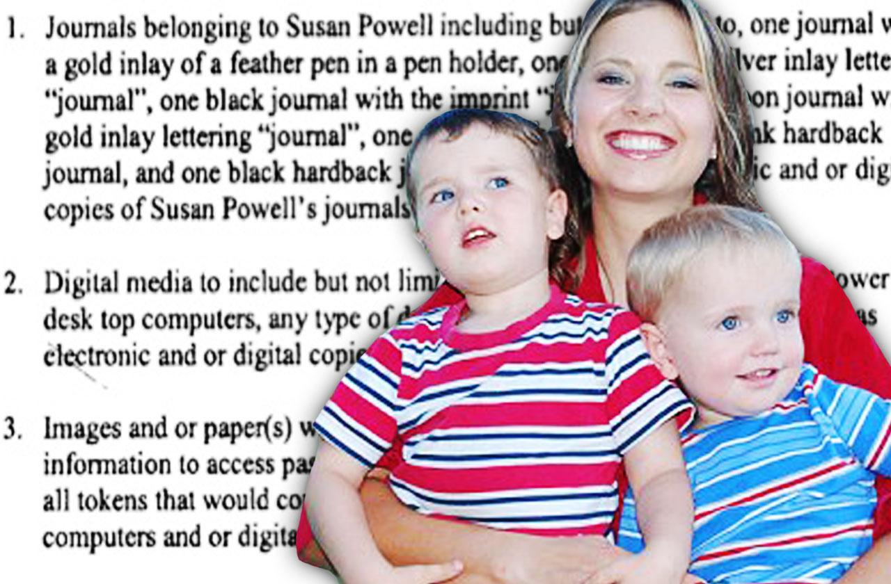 //susan powell murder sons joshua powell search warrant pp
